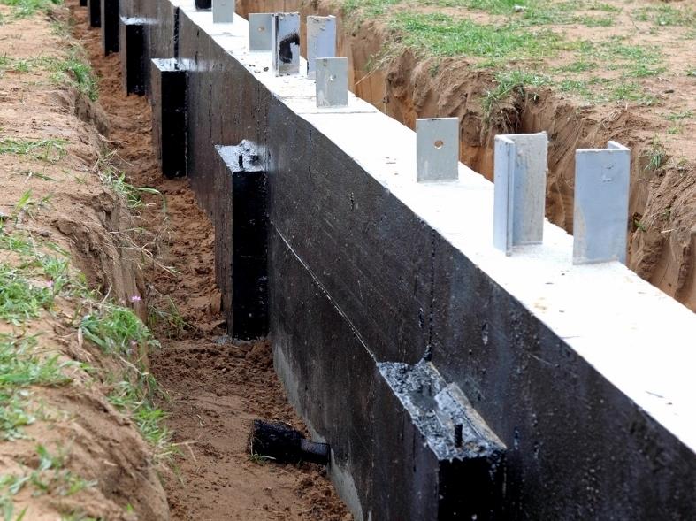 tanchit Des Fondations Et Des Murs Enterrs  Arcafondation
