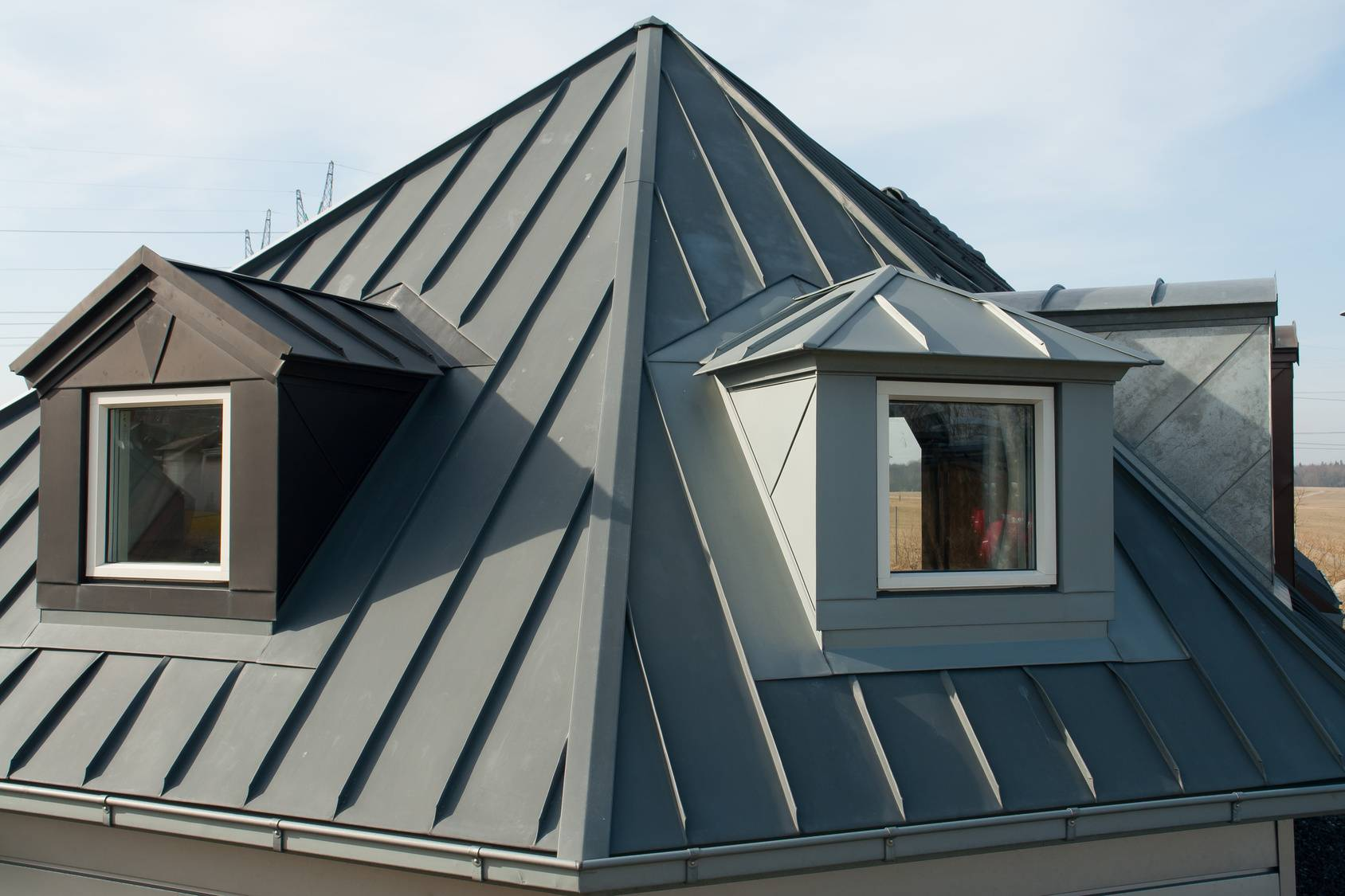 Etancheite des toitures metalliques