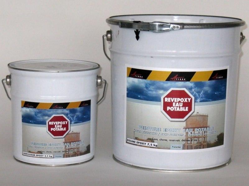 peinture epoxy pour citerne et r servoir d 39 eau potable. Black Bedroom Furniture Sets. Home Design Ideas